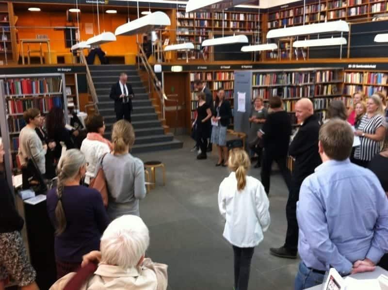 Åbning af 'Indskut værdag' på Frederiksberg bibliotek
