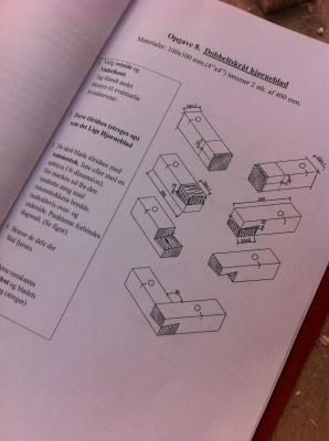 Tømreropgave for ordblinde