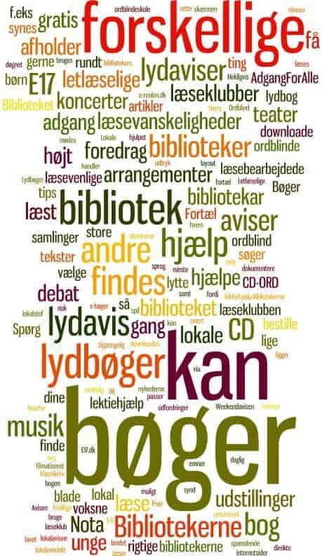 Hvad kan bibliotekerne tilbyde