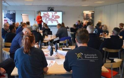 Foredrag om ordbindhed til Brandkadetter