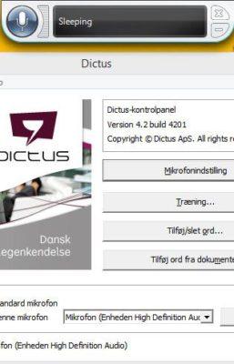 Dictus til PC