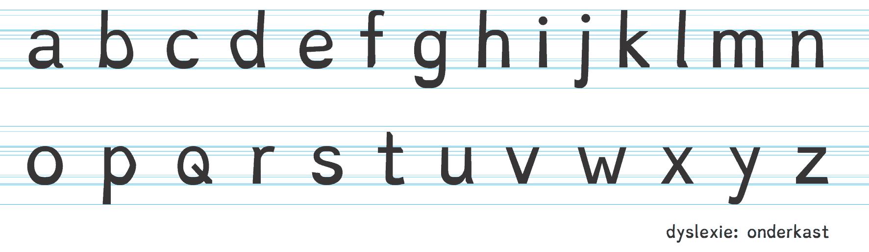 Dyslexie skrifttype