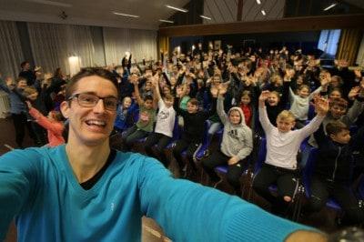 Foredrag om livet som ordblind på en folkeskole - Jesper Sehested, ordblind og foredragsholder