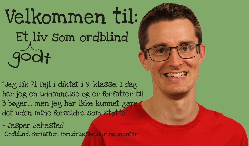 Velkommen til Etlivsomordblind.dk med Jesper Sehested