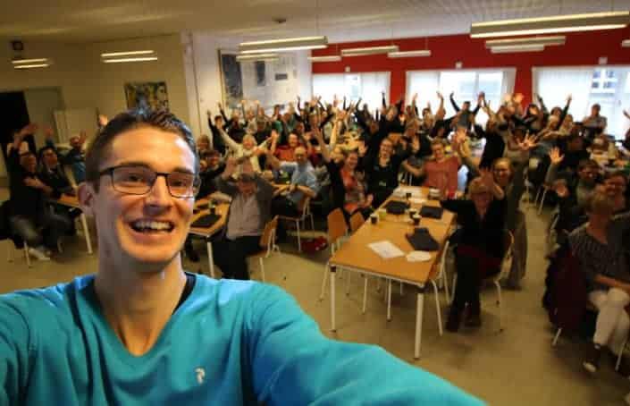 Foredrag på Firkløverskolen om livet som ordblind - Jesper Sehested