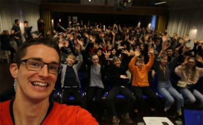 Foredrag af Jesper Sehested, som er ordblind