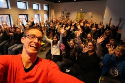 I ordblindeugen holdte Jesper Sehested foredrag om livet som ordblind