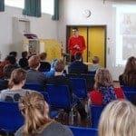 Foredrag på Nørbæk Efterskole