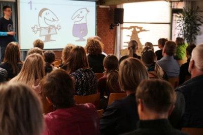 Foredrag af Jesper Sehested Ordblind og mentor