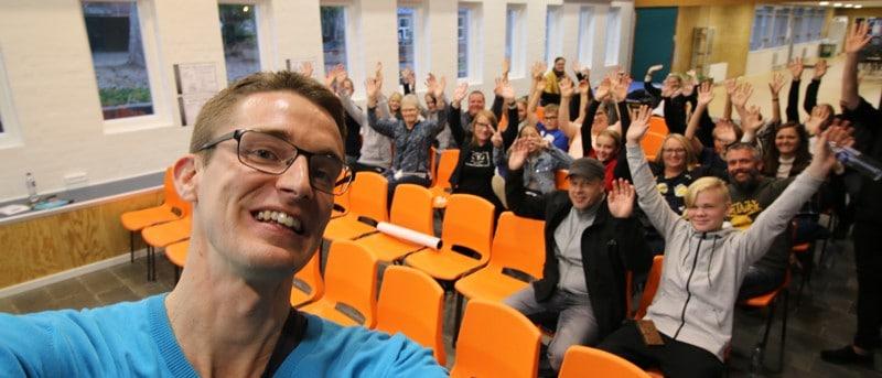 Et liv som ordblind i folkeskolen - Ordblindeugen i uge 40 i Danmark