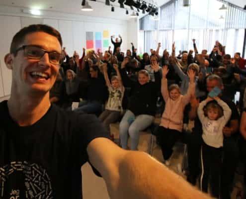 Foredrag for ordblinde elever af Jesper Sehested