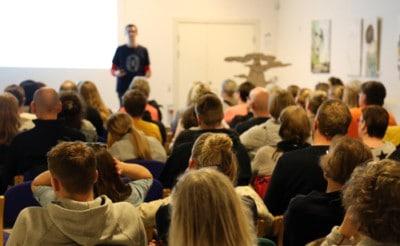 Foredrag om livet som ordblind -Jesper Shested