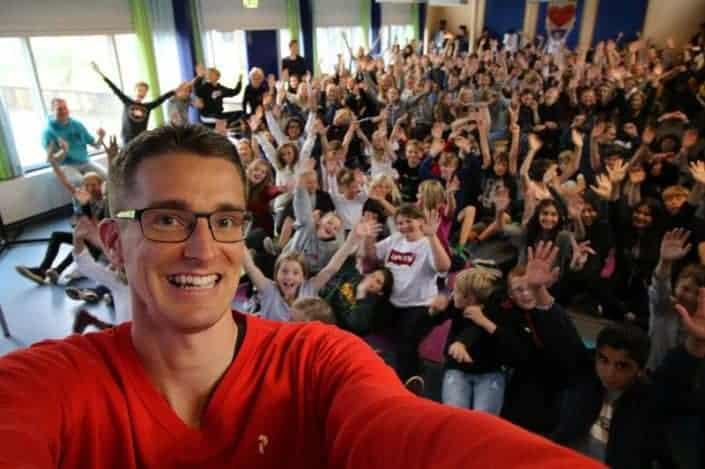 Jesper Sehested holder foredrag om Ordblindhed på Ebeltoft Skole