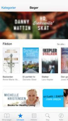 Ibooks på iPhone