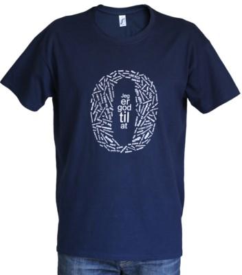 'Jeg er god til at...' T-shirt - pasform - dreng