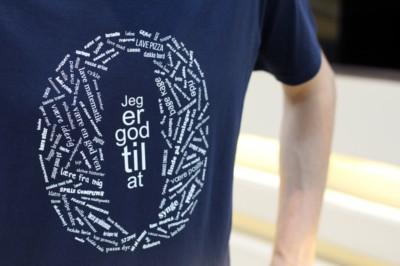 'Jeg er god til at...' T Shirt