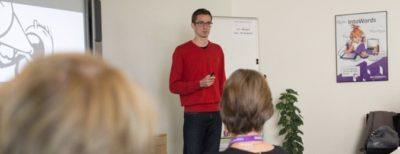 Jesper Sehested Jensen holder foredrag om ordblindhed