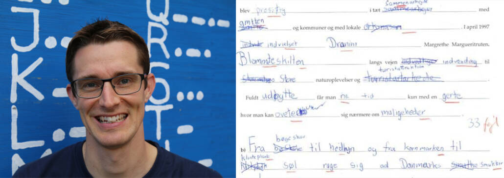 Jesper Sehested - diktat - 9 klasse