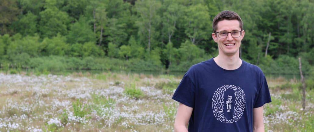 Jesper Sehested mentor for ordblinde