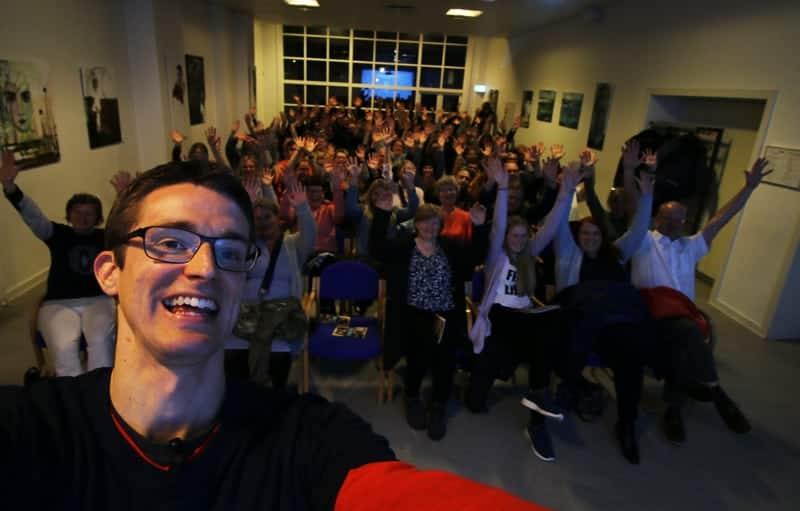 Foredrag om ordblindhed på Holbæk Bibliotek - Jesper Sehested