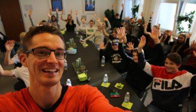 Foredrag om livet som ordblind, på Tallerupskolen af Jesper Sehested