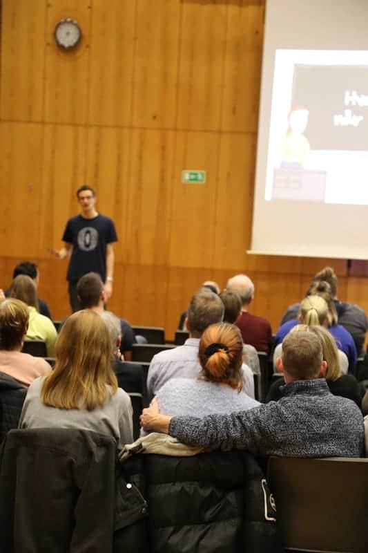 Foredrag om ordblindhed - Halsnæs - Jesper Sehested