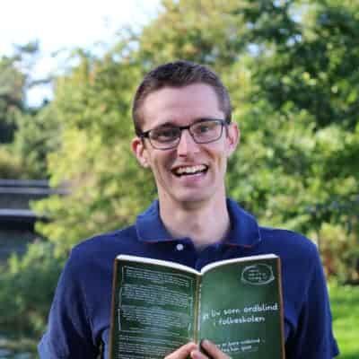 Jesper Sehested forfatter til 'Et liv som ordblind i folkeskolen'