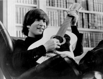 John Lennon med Guitaren