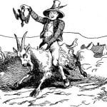 Klods Hans på ged