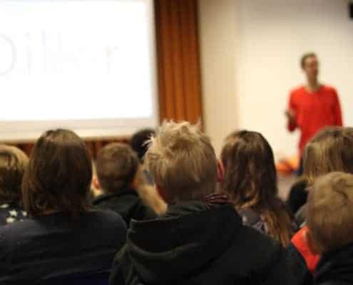Livet med dysleksi - foredrag