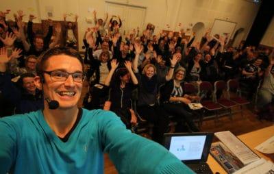 Jesper Sehested snakker om livet som ordblind