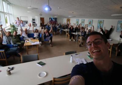 Foredrag om ordblindhed til lærer af Jesper Sehested