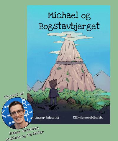 Michael og Bogstavbjerget - Skrevet af Jesper Sehested