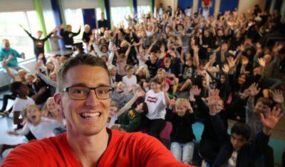 Mit liv som ordblind - Foredrag af Jesper Sehested på Ebeltoft Skole