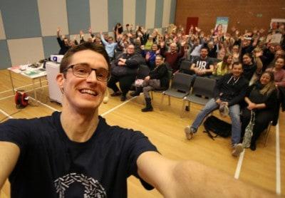 Foredrag om livet som ordblind i Halsnæs