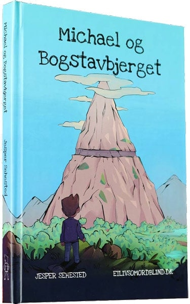 Michael og Bogstavbjerget - En bog til ordblinde