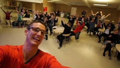 Ordblindhed og Foredrag på Kibæk skole af Jesper Sehested
