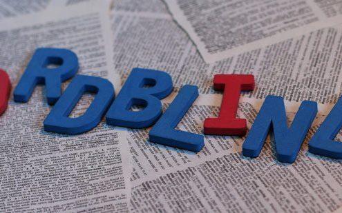Kampen med bogstaver som ordblind