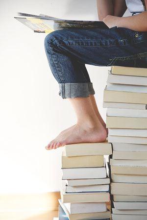 Ordblind læser bøger