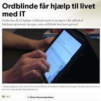 Ordblinde får hjælp til livet med IT