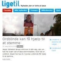 DR Ligetil - Ordblinde kan få hjælp til at stemme