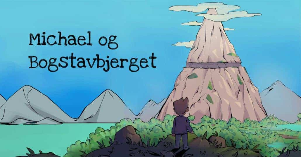 Ordblindebogen - Michael og Bogstavbjerget