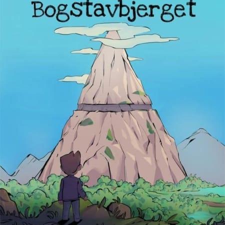 Ordblindebogen - Michael og Bogstavbjerget - Forside