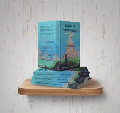 Ordblindebogen - Michael og Bogstavbjerget - på hylde åben