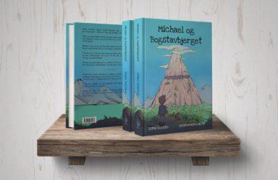 Ordblindebogen - Michael og Bogstavbjerget - på hylde
