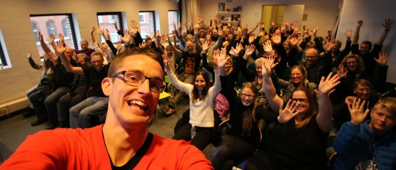 Foredrag i Ordblindeugen i uge40 om livet som ordblind