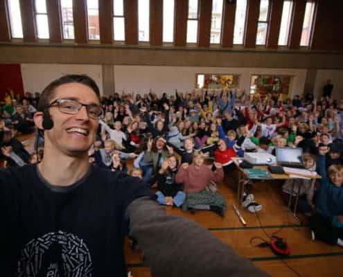 Foredrag på Bordings Friskole- Jesper Sehested, ordblind, forfatter og foredragsholder