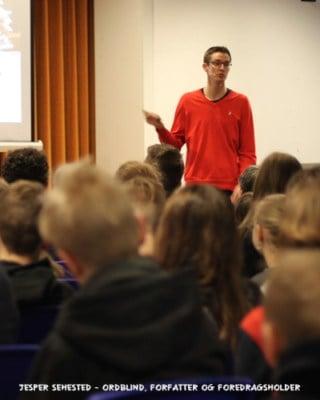 Foredrag i ordblindeugen - uge 40