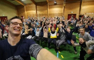 Foredrag om ordblindhed i ordblindeugen - Jesper Sehested på Johannesskolen