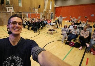 Foredrag om ordblindhed - Ringkøbing skole - Jesper Sehested